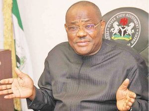 WIKE 300x225 - Wike Desperately Lobbying To Join APC Because Of Atiku – Rivers APC Leaders Allege