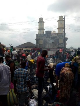 WhatsApp Image 2019 08 19 at 10.20.18 275x367 - Just In: Fire Destroys Katangowa Market In Lagos (Pictures)