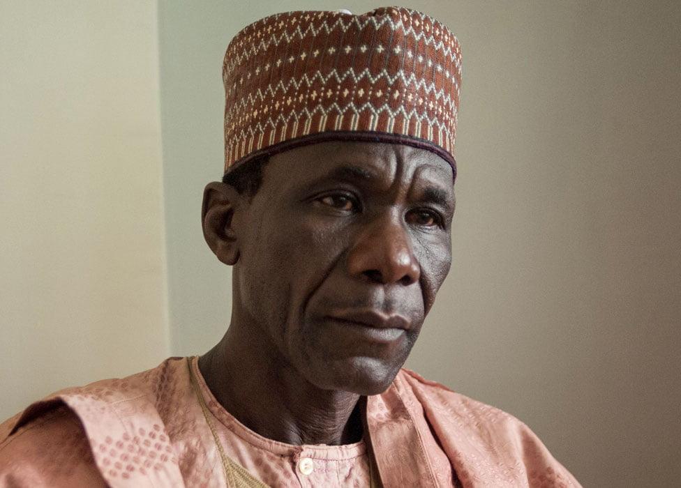 Yakubu Nkeki President of the Chibok Parents Association