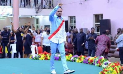 Prophet Odumeje Sends 'Strong Warning' To Those Against Biafra, Nnamdi Kanu (Video)