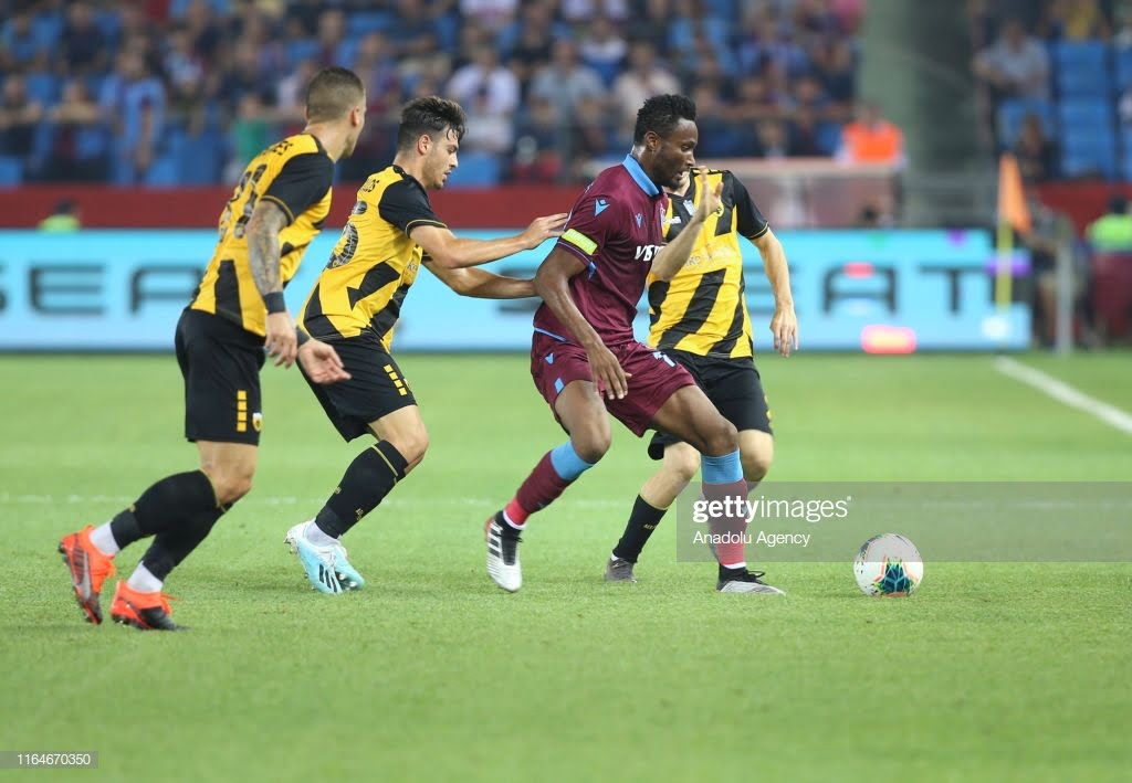 Why Mikel May Leave Trabzonspor After Four Games