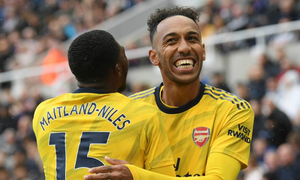 pierre emerick aubameyang arsenal 2019 20 1o9pcul292stc1ab5fte6ml5fa 1000x600 - EFL: Carabao Cup Third-round Results (Full Scores)