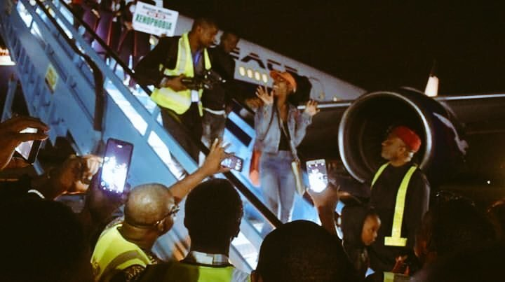 Air Peace South Africa Evacuation