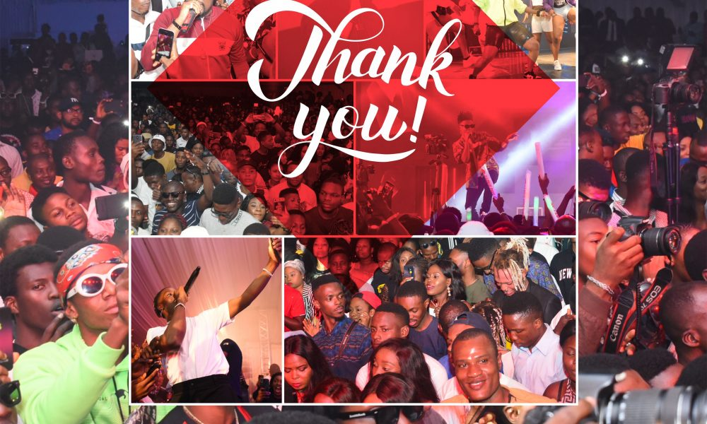 Aspire Thank you 1000x600 - Top Nigerian Artistes Thrill Fans At The Zenith Bank Aspire Music Festival