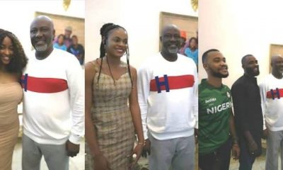 BBNaija Dino Melaye and Housemates