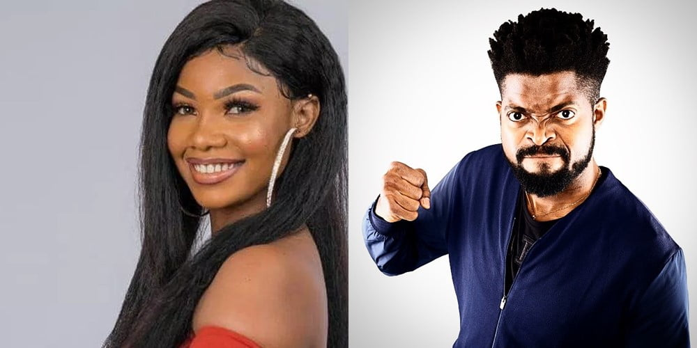 BBNaija BasketMouth and Tacha