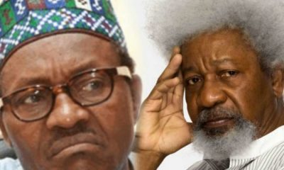 Wole Soyinka Roasts Buhari Govt Over Treason Charge Against Sowore