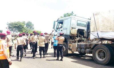 FRSC Bars Dangote Trucks On Roads For Specific Time