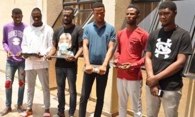 EFCC Arrests Yahoo boys