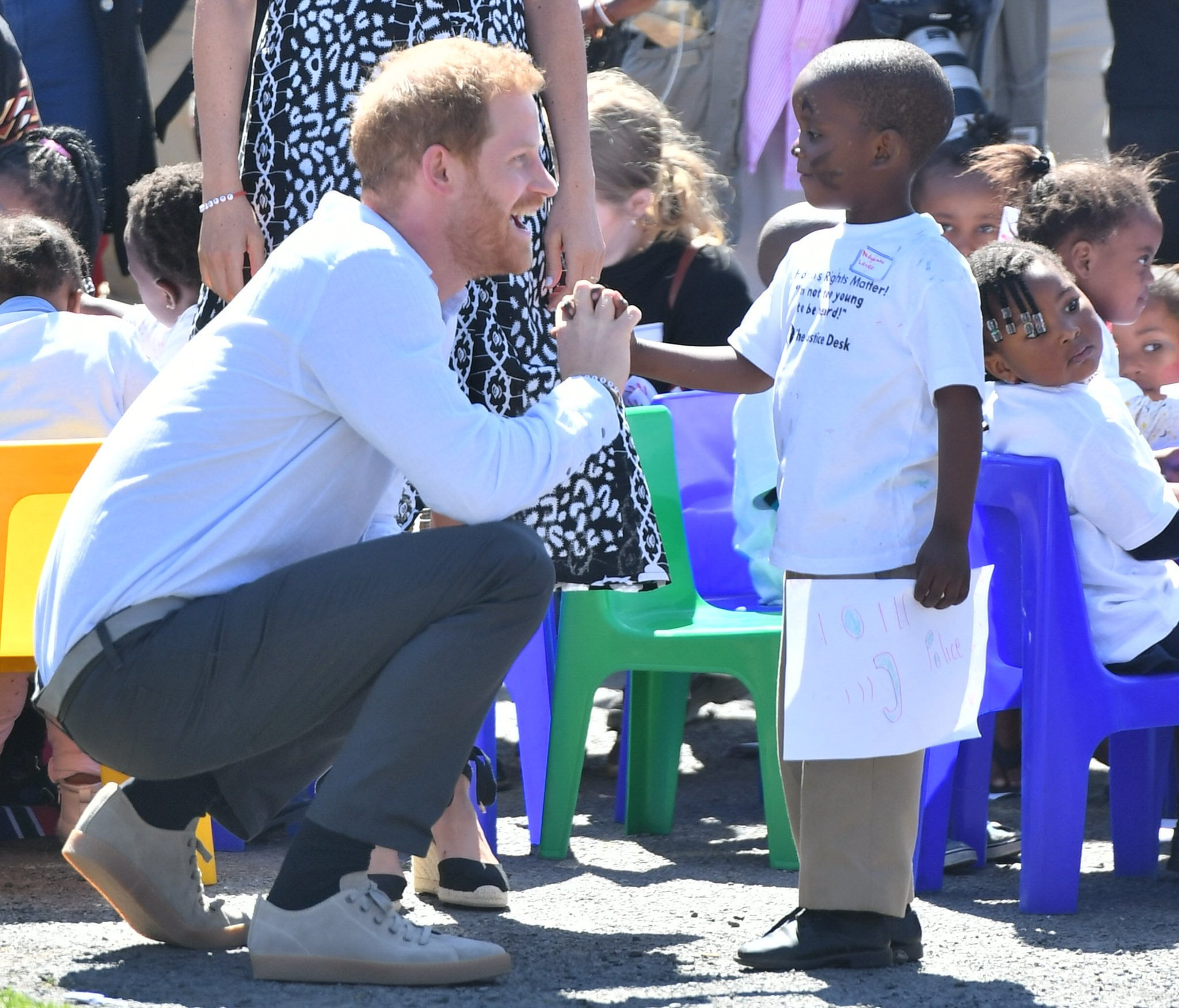 EFJayCHWsAA3Hnz - Prince Harry And Family In South Africa For Maiden Tour (Pictures)