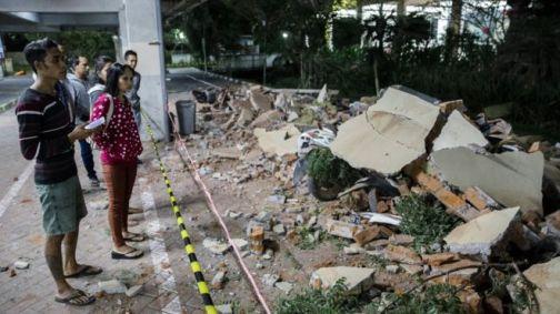 Earthquake Rocks Indonesia