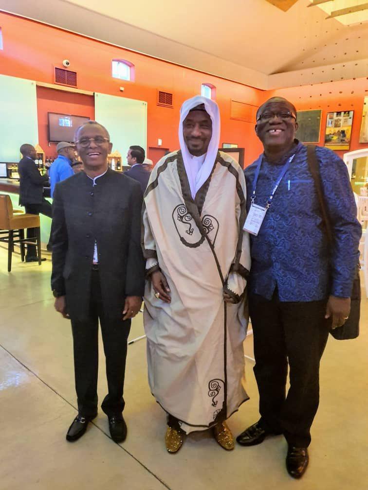 Nigerians Roasts Sanusi, Fayemi, El-Rufai Over South Africa Visit