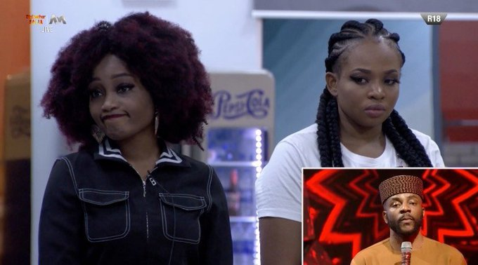 BBNaija: Watch The Moment Esther Was Evicted