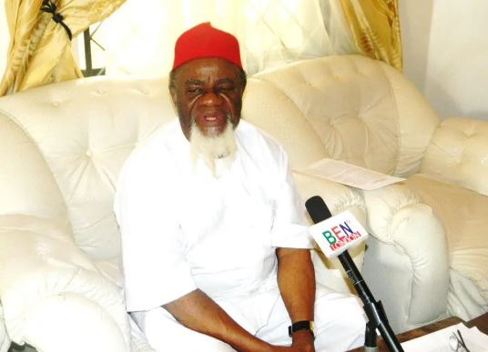 Attacks In South Carried Out To Provoke Igbo - Ezeife