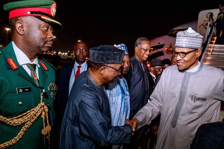 FB IMG 1569226823596 - President Muhammadu Buhari In New York For UNGA (Pictures)