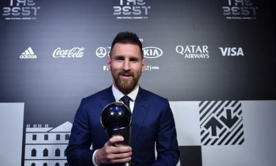 Lionel Messi, FIFA World Best Player