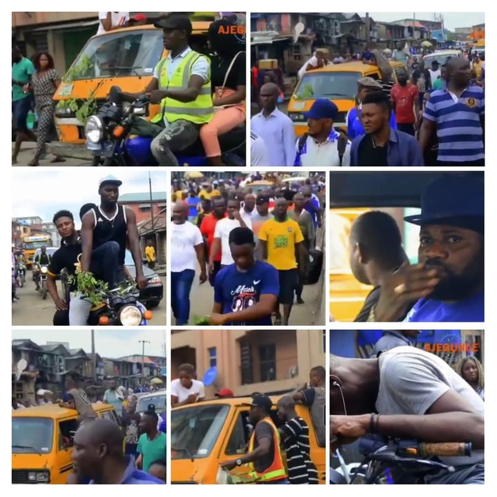 MAD Melon is dead 2 - Massive Turnout In Ajegunle As Mad Melon Body Is Escorted To The Mortuary