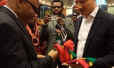 Nnamdi Kanu Gives IPOB Members, Biafra Hopefuls Fresh Hope