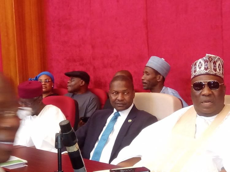 MVIMG 20190911 085242 750x563 1 - Presidential Election Tribunal: Abba Kyari, Others APC Big Shots Storm Court