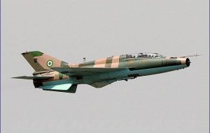 NAF Jet 300x191 - Nigerian Military Air Strike Kills Several Bandits In Kaduna State