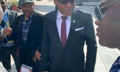 Breaking: Nnamdi Kanu Arrives European Parliament To Discuss Biafra Referendum (Photos)