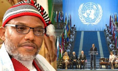 Breaking: IPOB's Nnamdi Kanu Arrives Switzerland Ahead Meeting With UN Over Biafra (Video)