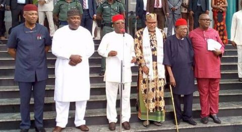 Biafra: Nnamdi Kanu Sends 'Strong Warning' To State Governors In Nigeria