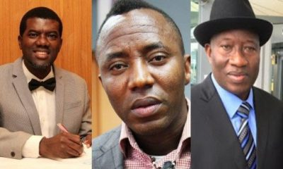 Omokri, Sowore and Jonathan