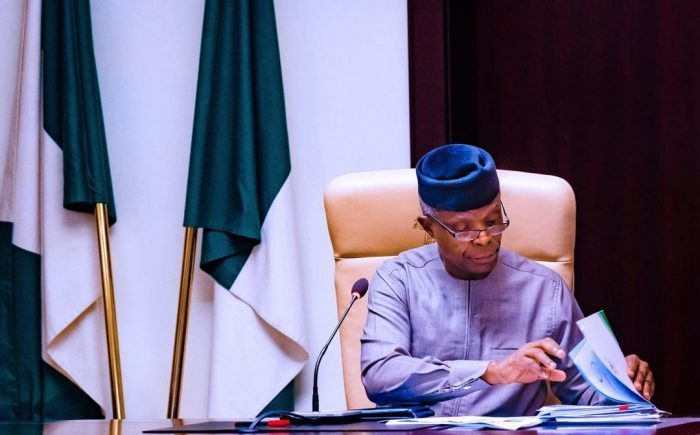 Breaking: Vice President Osinbajo Waives Immunity To Clear Name On Fraud