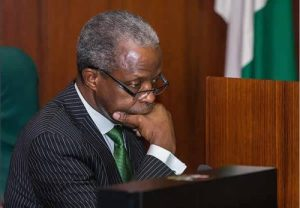 Osinbajo sad 2 300x208 - Osinbajo Must Be Probed And Impeached Over Alleged N10bn Withdrawal From TSA – Timi Frank