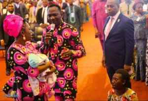 Pastor Paul Enenche Reportedly Resurrects Dead Baby With Hole In The Heart photos 1 - Paul Enenche Of Dunamis Church 'Raises' Dead Baby To Life (Photo)