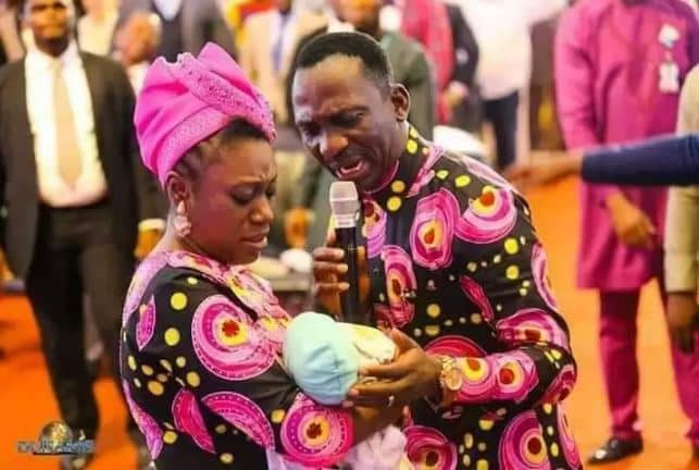 Paul Enenche resurrects dead baby with hole in the heart photos 1 - Paul Enenche Of Dunamis Church 'Raises' Dead Baby To Life (Photo)