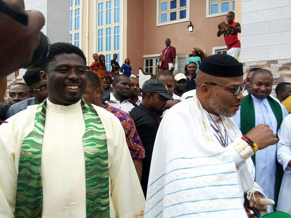 Biafra: Nnamdi Kanu Has More Loyalists, Respect Than Ojukwu - Rev. Ebube Muonso (Video)