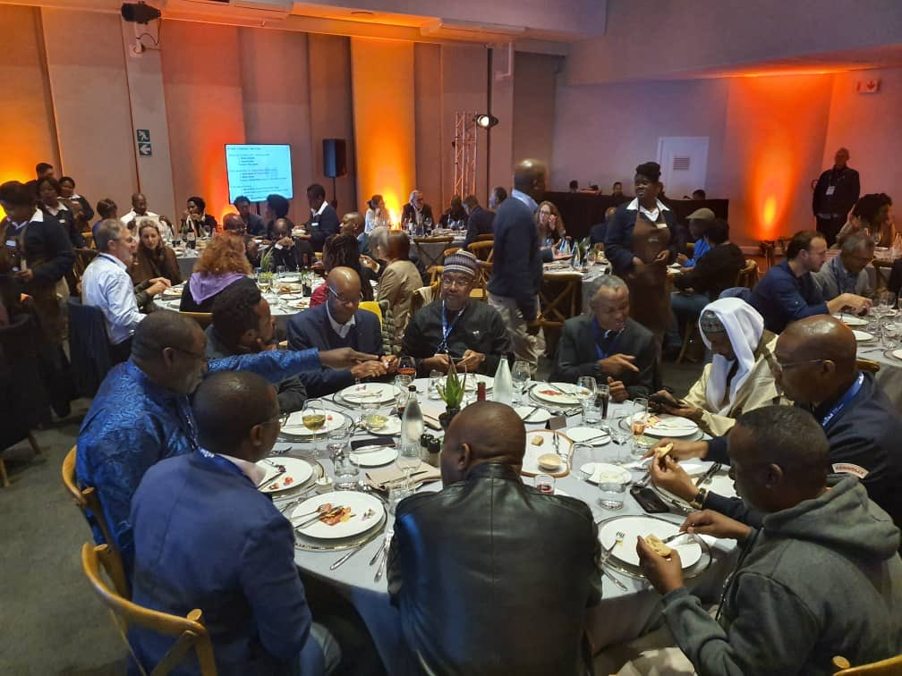 SA dinner 1 1 - Sanusi, Fayemi, El-Rufai Dine In South Africa Amid Xenophobic Attacks On Nigerians (Photos)