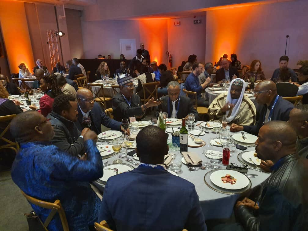SA dinner 2 1 - Sanusi, Fayemi, El-Rufai Dine In South Africa Amid Xenophobic Attacks On Nigerians (Photos)