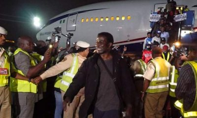 Allen Onyema Air Peace South African Returnees