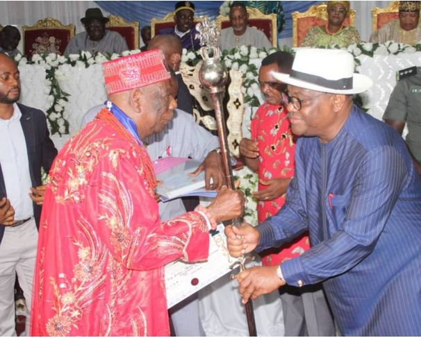 Wike and Traditional ruler