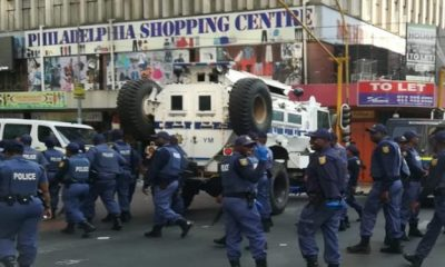 Xenophobia South Africa Arrests
