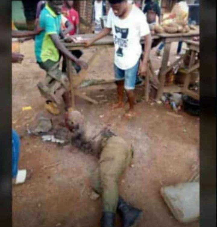 b0b77cc7 14cc 44c8 a54b c25cb210c0a6 - FUOYE: Bloodshed As Students Protest Allegedly Leads To Killing (Photos)