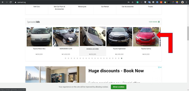 img5 - Where and How to Buy and Sell a Cars on Carmart Nigeria