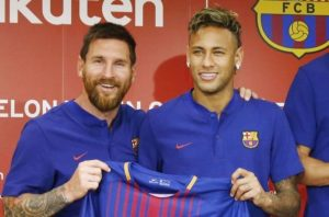 messi and neymar 300x198 - Transfer: Messi Wants Neymar To Join Him At Man City