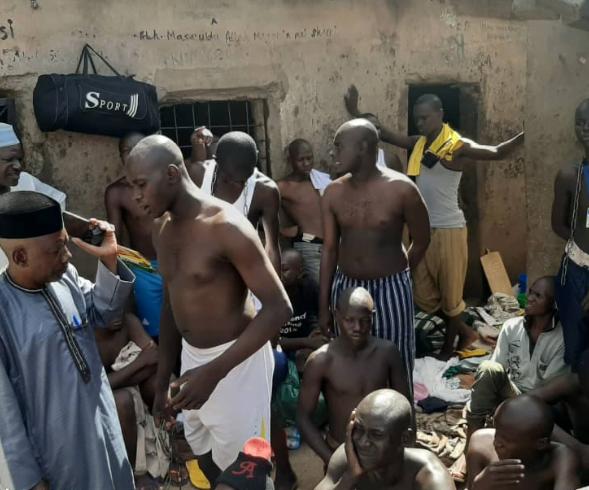 5da4b6564737c - Nigerian Police Uncover 'Torture Center' In Buhari's Town (Daura)