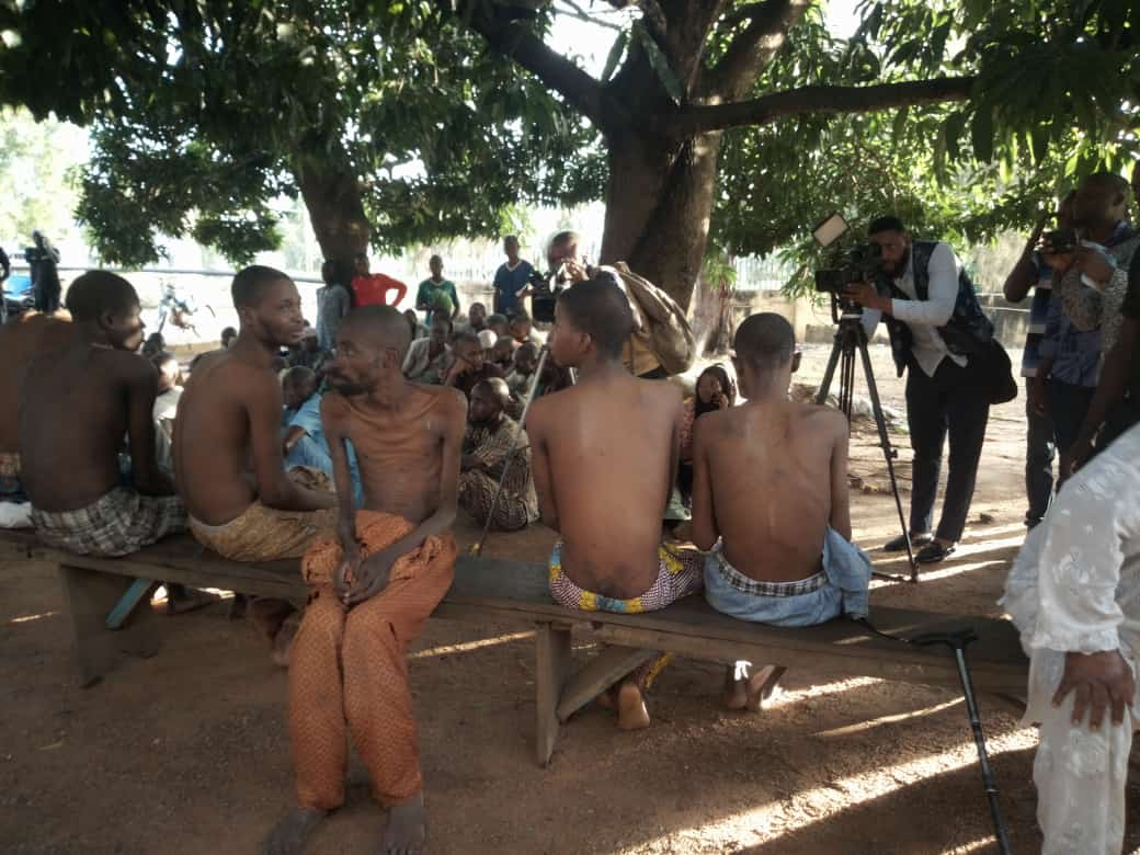 5e4a548342f347888ba9e22bd63b3bf8 - Ilorin Detention Center: Nigeria Police Give Update On Rescued Victims