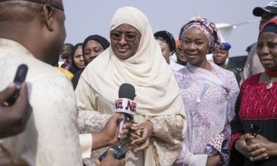 Aisha Buhari Returns