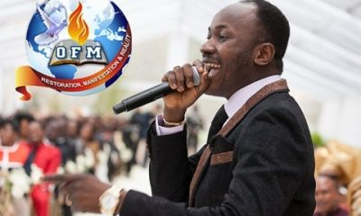 Apostle Suleman Releases 'Powerful' Prophecy For 1st Week Of October