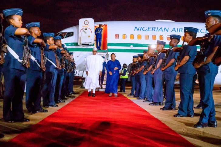 Buhari In South Africa 2 - Xenophobic Attack: President Buhari Arrives South Africa (PHOTOS)