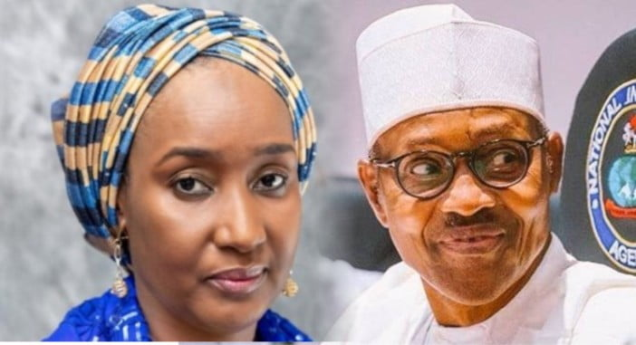 Buhari and new wife - Nigerians Make Fresh Demand From Sadiya Farouq, Buhari's Alleged Wife To Be