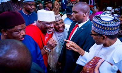 Senator Dino Melaye Shocks President Buhari