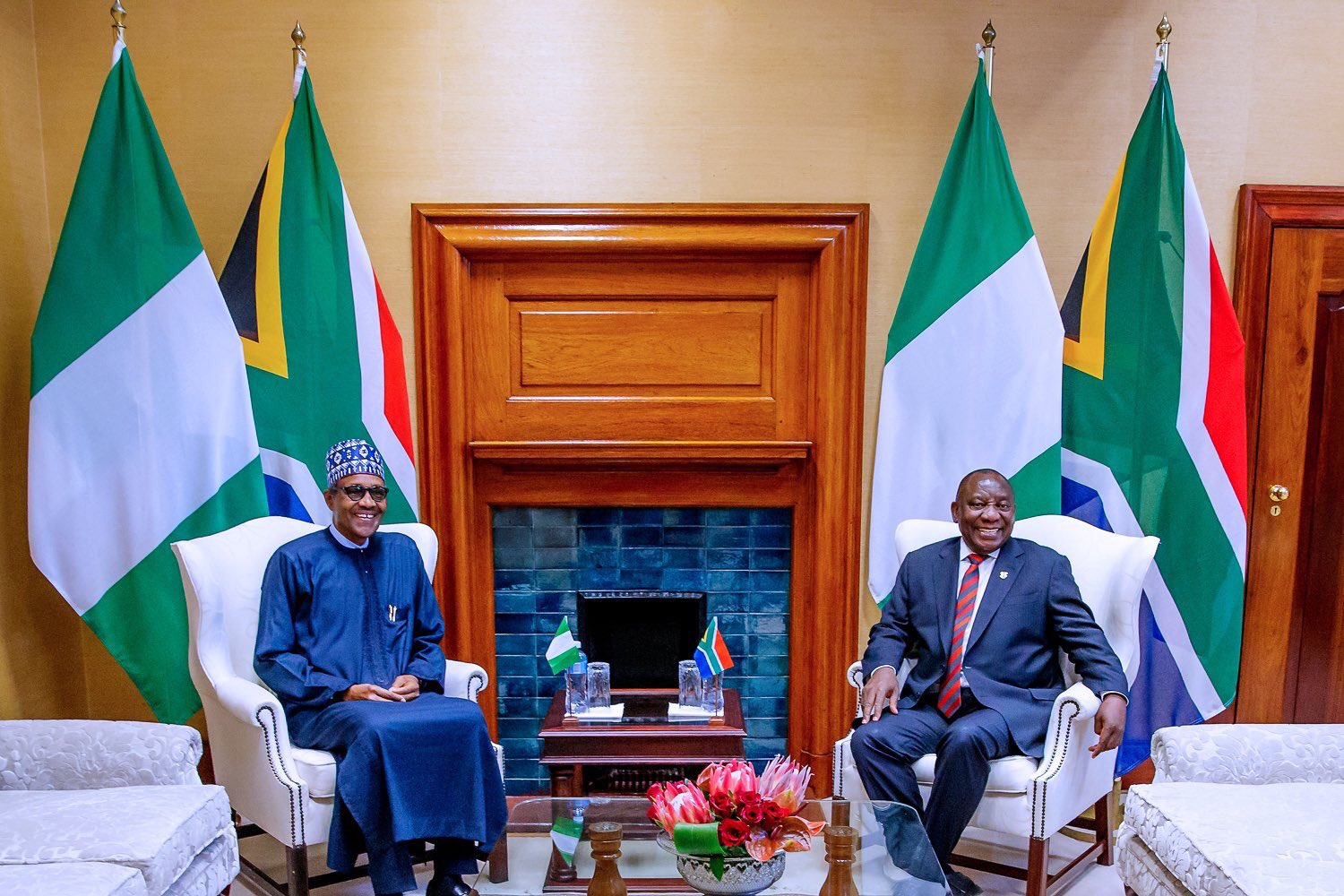 EF9dGcNW4AEekcY - Picture Story: Nigerian Government Signs 32 Bilateral Agreement With South Africa