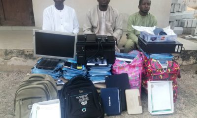 EFCC arrests suspected job scammers
